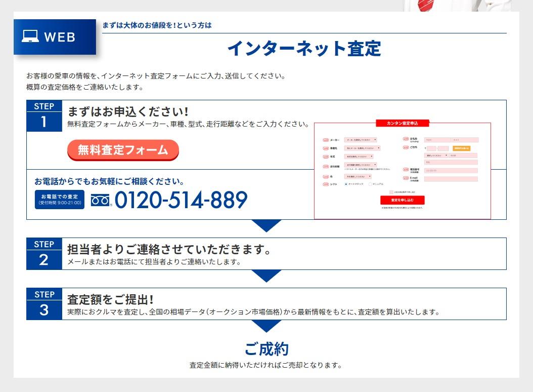 ラビットオンライン査定